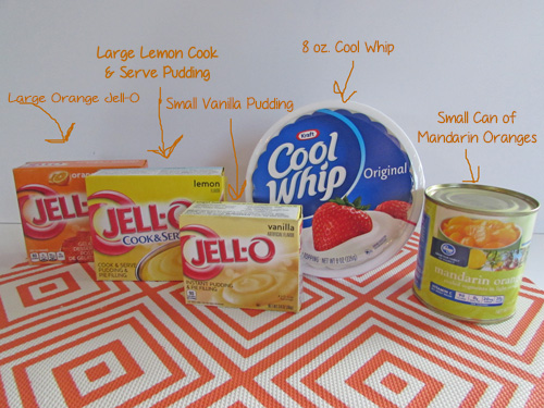 Creamy Orange Jell-O - Coupons4Utah