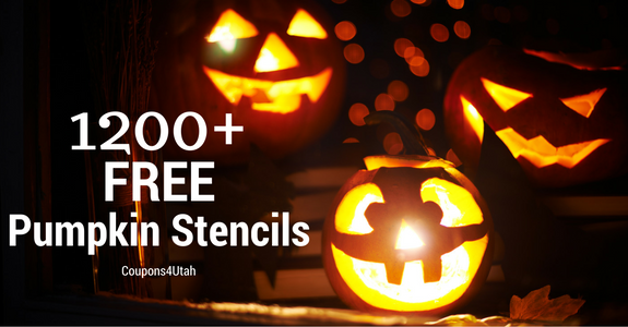 1200+ Free Pumpkin Stencils and Templates to help you transform your pumpkin into a masterpiece! You will want to save this huge list, there is something for everyone. - Coupons4Utah